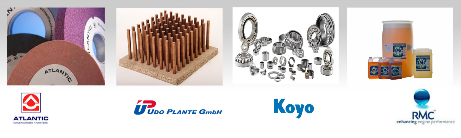 Industrial Supplies (Grinding Wheels, Electrodes, Bearings)